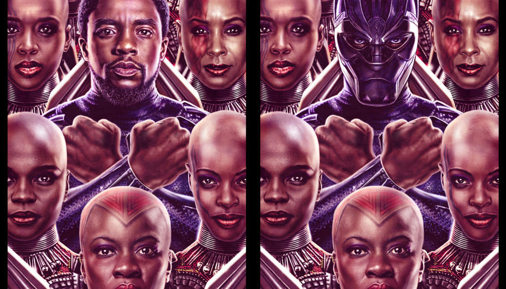 The Black Panther movie King of Wakanda by Eddie Holly